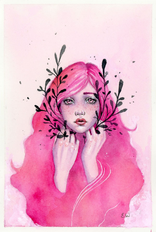 pink girl blacky